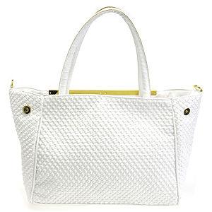 Sugar Bag Beyaz Renkli Geniş Omuz Çantası