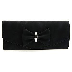 Sugar Bag Fiyonklu Siyah Çanta