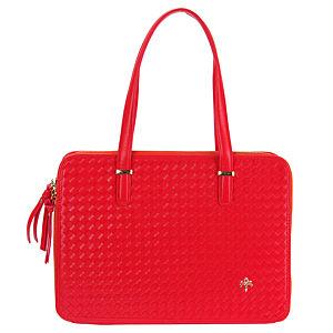 Sugar Bag Kırmızı Hasır Görünümlü Omuz Çantası