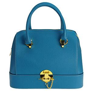 Sugar Bag Mavi Box El Çantası