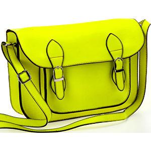 Sugar Bag Neon Sarı Postacı Çantası