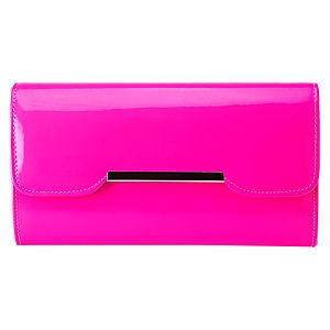 Sugar Bag Pembe Neon Clutch