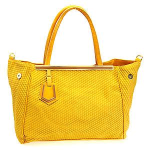 Sugar Bag Sarı Geniş Omuz Çantası