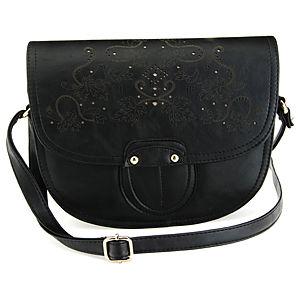 Sugar Bag Siyah Desenli Çanta