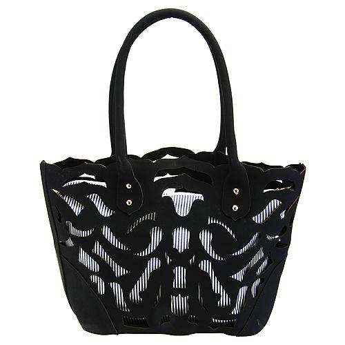 Sugar Bag Siyah Pencereli İçli Tasarım Çanta