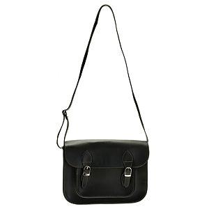 Sugar Bag Siyah Postacı Çanta