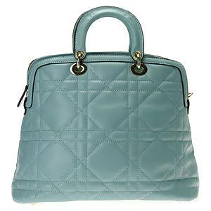 Sugar Bag Su Yeşili Baklava Desenli El Çantası