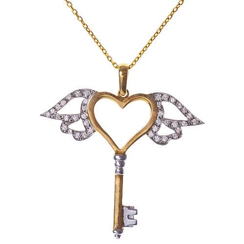 Vartan Collection Kalbimin Anahtarı Meleğimde Kolye