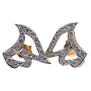 Vartan Collection Taşlı Gümüş Melek Kanadı Küpe