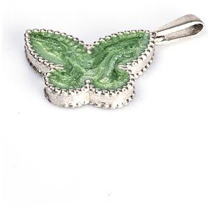 Vartan Collection Yeşil Kelebek Kolye