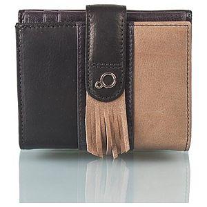 Zoopa Kadın üç renkli deri cüzdan(8 kartlıklı, bozuk paralıklı)
