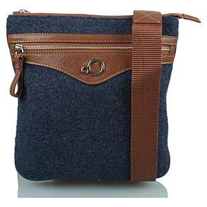 Zoopa keçe çapraz omuz çantası