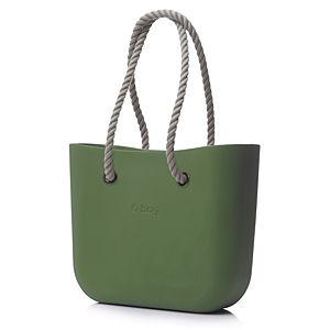 O Bag Zeytin Yeşili Halat Saplı Set