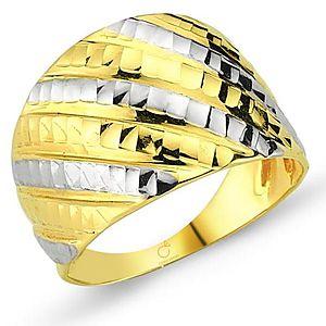 Selmas 14 ayar Sarı-Beyaz altın  Yüzük