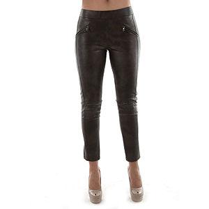 Sorcha Deri Karışımlı Likra Fashion Pantalon