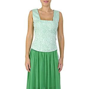 Sorcha Yeşil Desenli Bluz
