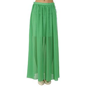 Sorcha Yeşil Uzun Etek
