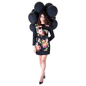 Nisa Kalo Girne Siyah Mini Elbise