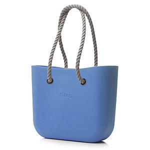 O Bag Bebek Mavisi Halat Saplı Set