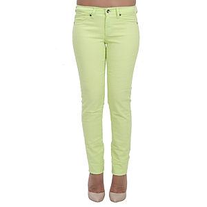 Orient Flower Açık Yeşil Dar Kesim Pantolon