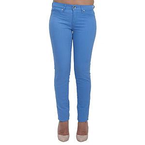 Orient Flower Mavi Dar Kesim Pantolon