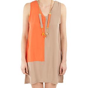 Orient Flower Oranj - Kemik Elbise