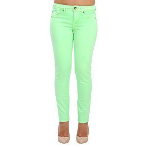 Orient Flower Yeşil Dar Kesim Pantolon