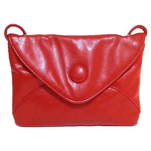 Pembe Askı Red Bag Kırmızı Askılı Deri Çanta