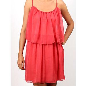 Prime Days Mercan Kat Kat Şifon Elbise