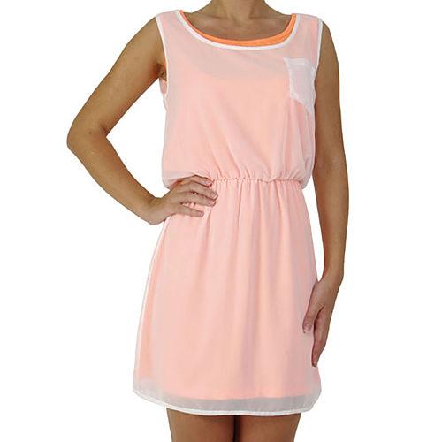 Prime Days Neon Astarli Şifon Elbise