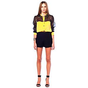 Karahasan's Sarı Siyah Gömlek