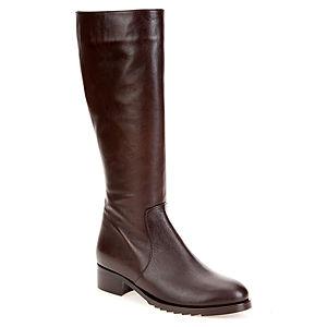 LeSille Kahverengi Deri Enjeksiyon Tabanlı Basic Çizme