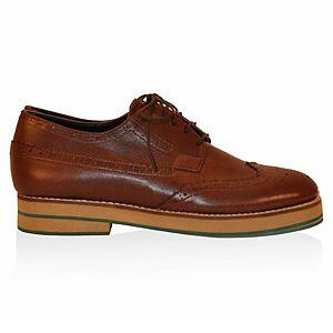 LeSille Taba Deri Köpük Tabanlın Oxford Ayakkabı