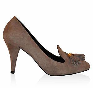 LeSille Vizon Süet Dilli Püsküllü Ayakkabı