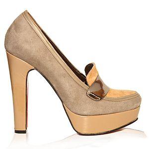 LeSille Vizon Süet Loafer Ayakkabı