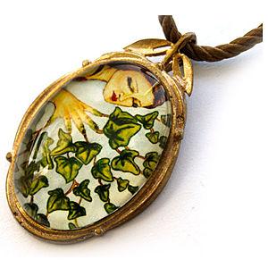 Mainili İvy Fairy Bronze Art Pendant