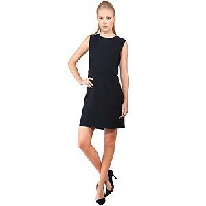 MyMija Siyah Yanları Dekolte Elbise