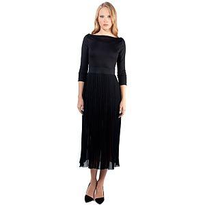 MyMija Yagmur Cömert for Mija Siyah Uzun Elbise