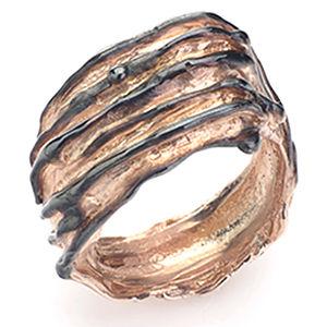 Gülçağ  Jewellery İçimdeki Dalgalar Yüzük