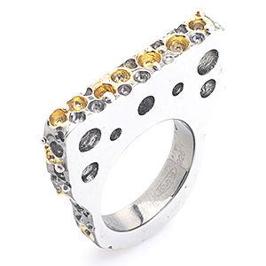 Gülçağ  Jewellery Ruhum Delik Deşik Yüzük