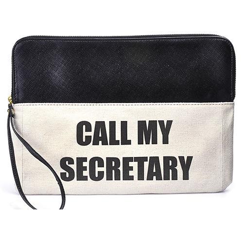 Gülçin Uzunalan Call My Secretary Büyük Boy Clutch
