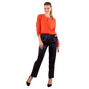 Gülçin Uzunalan Füme Yüksek Bel Pantolon