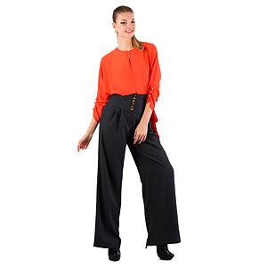 Gülçin Uzunalan Haki Yüksek Bel Pantolon