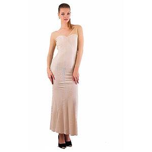 Gülçin Uzunalan Krem Örme Elbise
