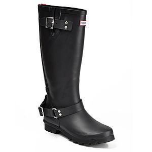 Hunter Siyah Yağmur Çizmesi