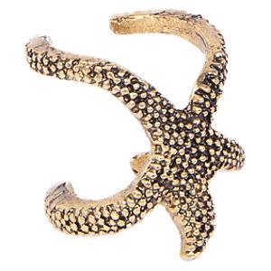İG Design Altın Rengi Denizyıldızı Yüzük
