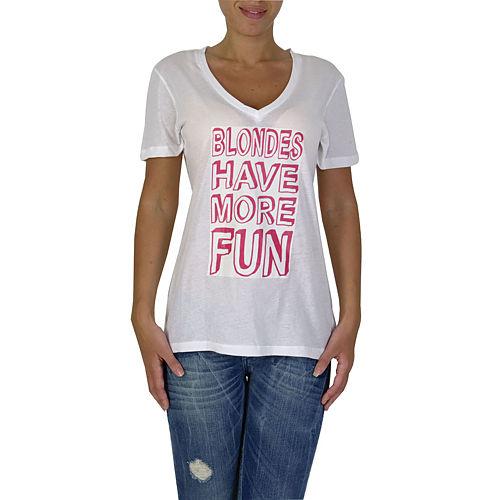 İrem Yıldırım Fun Blonde T-Shirt