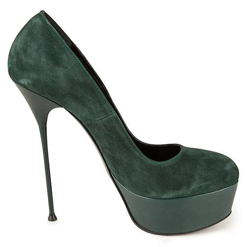 İrem Yıldırım Green Silhoutte Topuklu Ayakkabı