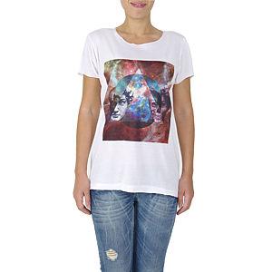 İrem Yıldırım Human Skull Triangle Basic T-Shirt
