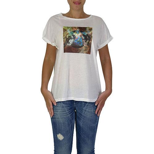 İrem Yıldırım Kafatası Üçgen T-Shirt
